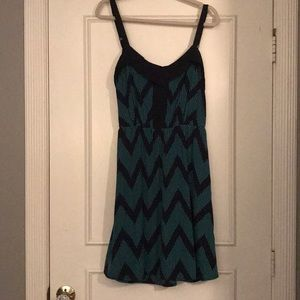Aryn K dress, like new.
